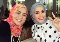 Siti Elizad Dan Sherry Ibrahim Cantik Bertudung