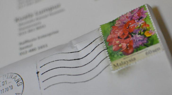 Permalink to Nak Pos Surat. Lekat Setem Berapa Sen?